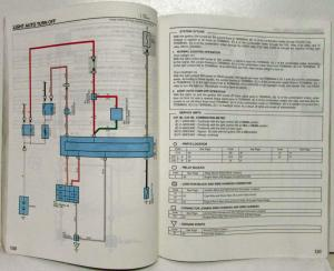 1999 Toyota 4Runner Electrical Wiring Diagram Manual US