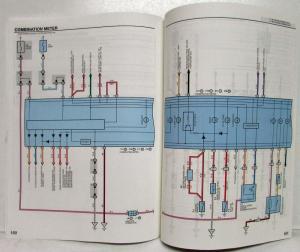 2000 Toyota RAV4 Electrical Wiring Diagram Manual