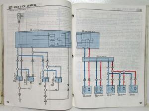 1996 Toyota RAV4 Electrical Wiring Diagram Manual