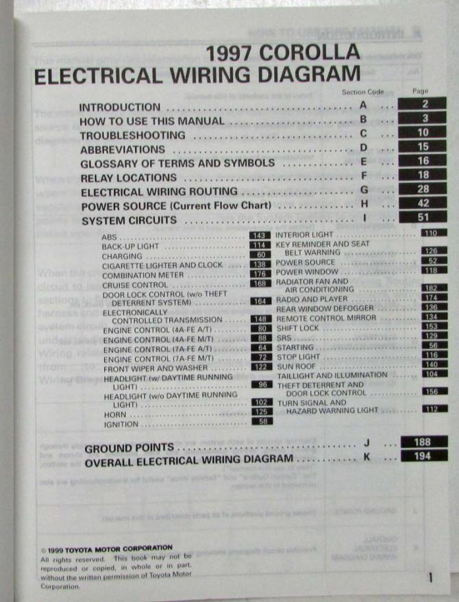 1997 toyota corolla wiring diagram typical kitchen wiring