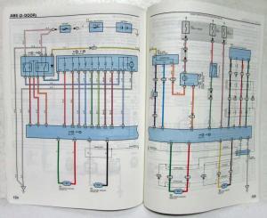 1999 Toyota RAV4 Electrical Wiring Diagram Manual US & Canada