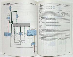 2003 Toyota MR2 Electrical Wiring Diagram Manual
