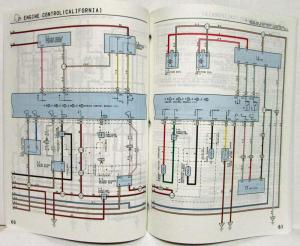 1995 Toyota Paseo Electrical Wiring Diagram Manual US & Canada