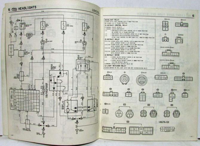 1986 toyota celica wiring diagram  wiring diagram electron