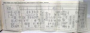 1982 Toyota Models Electrical Wiring Diagram Manual US