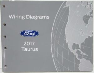 2017 Ford Taurus Interceptor Electrical Wiring Diagrams Manual