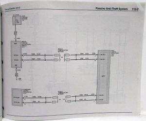 2013 Ford Focus Electric Electrical Wiring Diagrams Manual