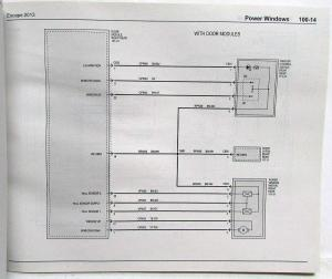 2013 Ford Escape Electrical Wiring Diagrams Manual