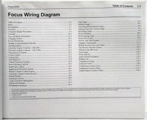 2014 Ford Focus St Wiring Diagram | Wiring Library