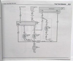 2015 Ford F650 750 Super Duty Trucks Electrical Wiring