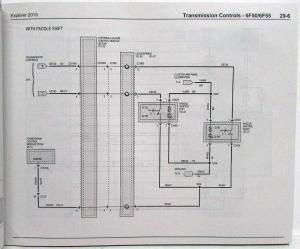 2015 Ford Explorer Electrical Wiring Diagrams Manual