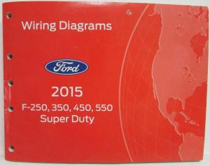 2015 Ford F250 350 450 550 Super Duty Pickup Electrical