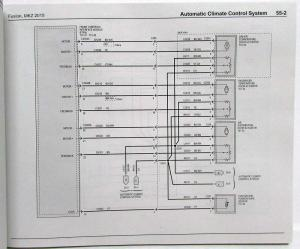 2015 Ford Fusion Lincoln MKZ Electrical Wiring Diagrams Manual