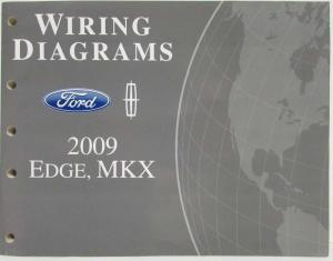 2009 Lincoln MKS Service Shop Repair Manual Original