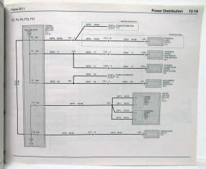 2011 Ford Fiesta Electrical Wiring Diagrams Manual