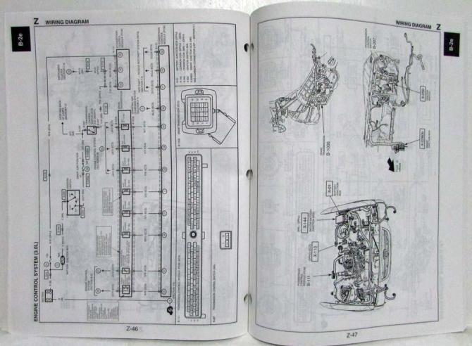 diagram 2007 mazda b series truck service wiring diagram