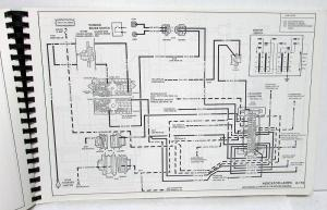 1991 GMC Electrical Wiring Diagram Service Manual Top kick