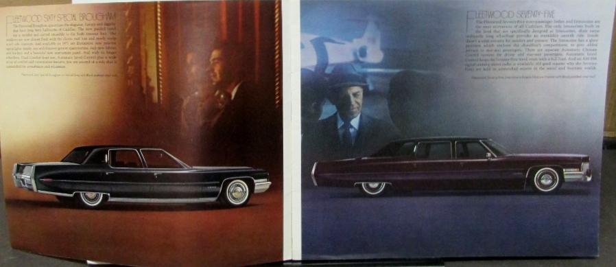 1971 Cadillac Fleetwood Deville Eldorado Calais Color