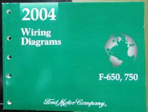 2004 Ford Dealer Electrical Wiring Diagram Service Manual