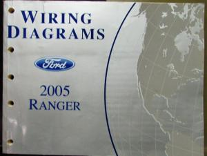 2005 Ford Electrical Wiring Diagram Service Manual Ranger