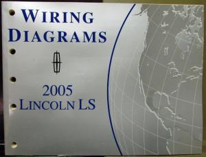2005 Lincoln Town Car Service Shop Repair Manual Original