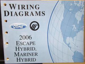 2006 Ford Mercury Dealer Electrical Wiring Diagram Manual
