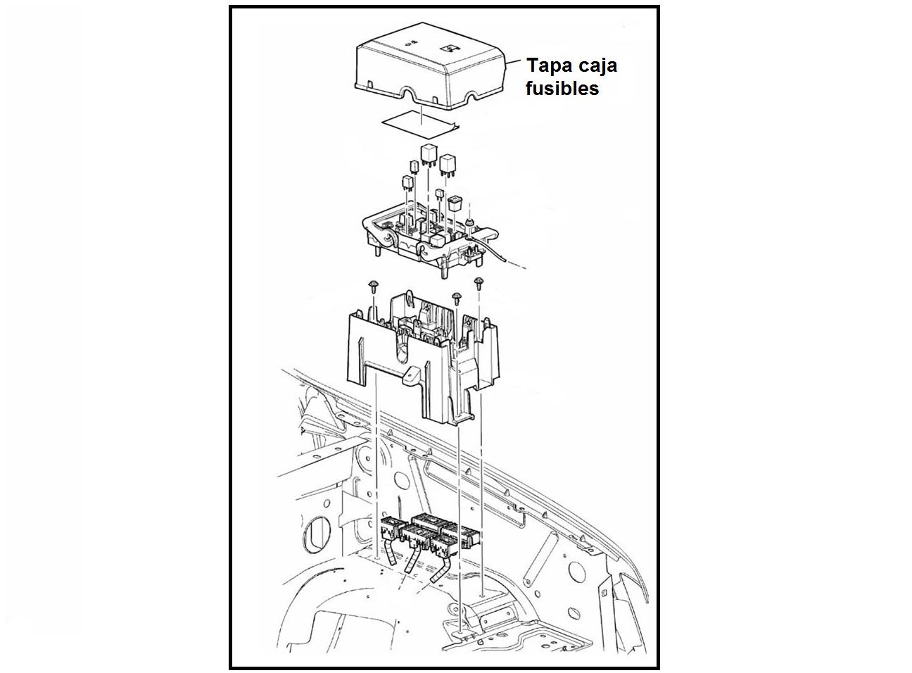 Tapa Caja De Fusibles Chevrolet Avalanche