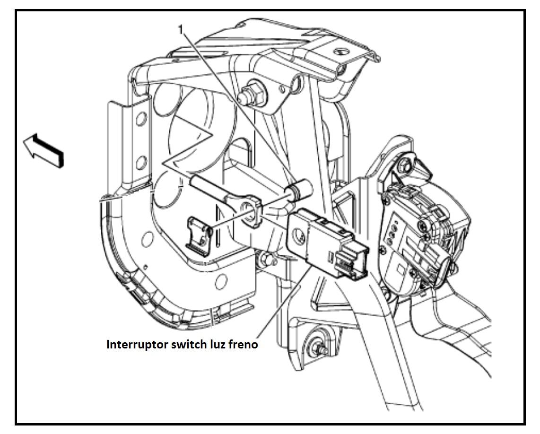 Interruptor Switch Pedal Luz Freno Chevrolet Avalanche