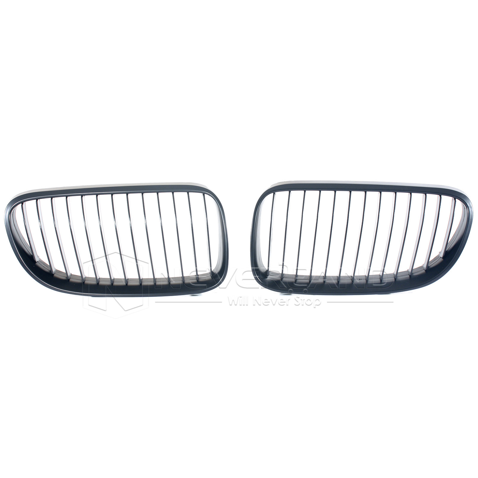 2x Front Bumper Kidney Grille For E92 E93 2d Coupe