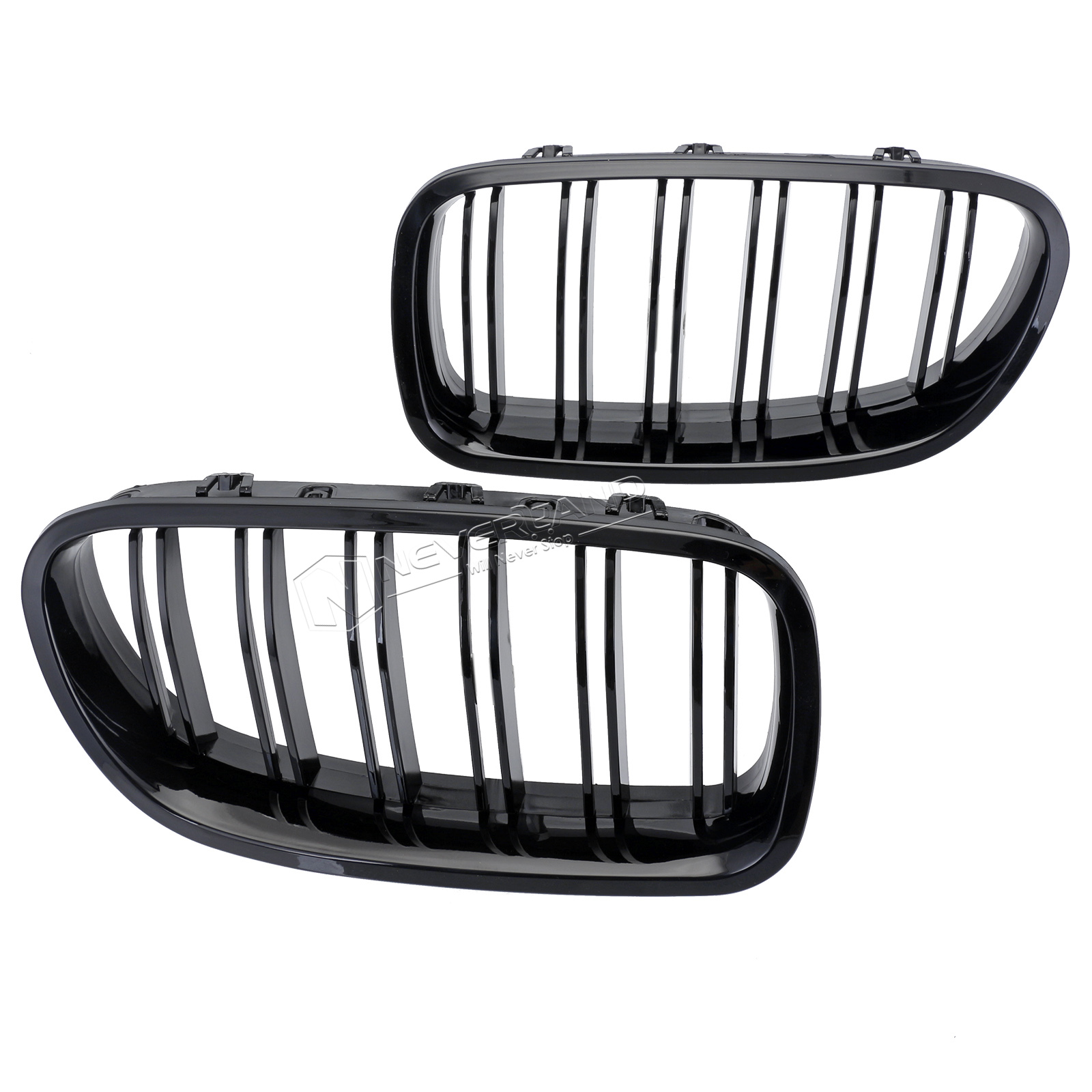 Gloss Black Front Sport Kidney Grill Grille For Bmw 10 14 F10 F18 F02 F11 M5 New
