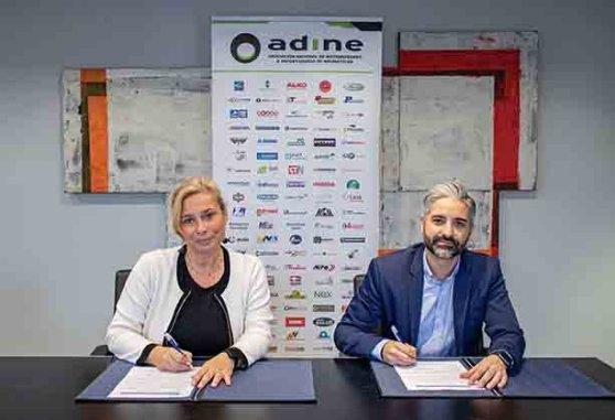 Acuerdo entre Adine y Aenor