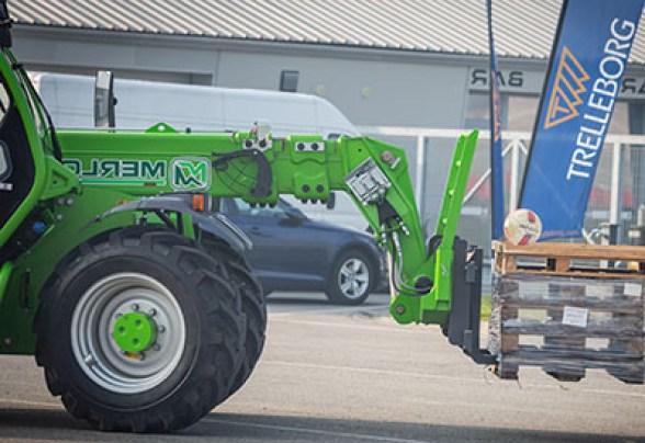 Tractor con Trelleborg