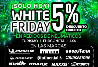 Nex celebra el fin del confinamiento con el White Friday