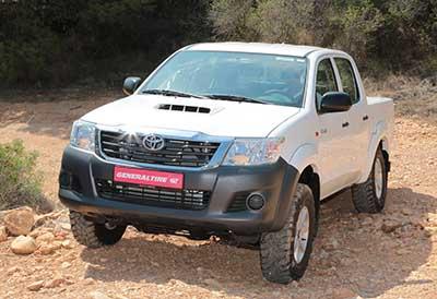 General Tire presenta  neumáticos para SUV y vehículos 4×4