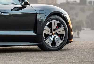 Hankook suministra neumáticos a los Porsche Taycan eléctricos
