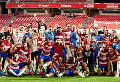 Tiresur, orgulloso del equipo Granada Club de Fútbol