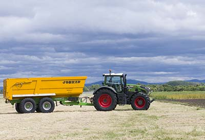 Neumático agrícola que combina duración con protección del suelo