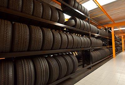 Almacén neumáticos
