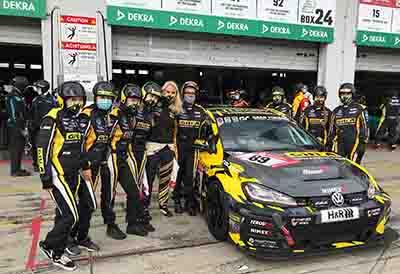Pódiun para los cuatro equipos de Giti Tire en Nürburgring 24h