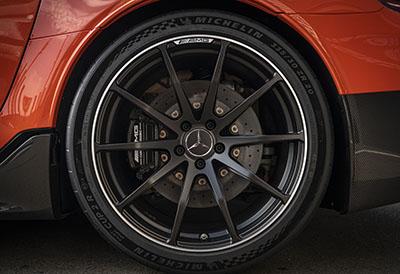 Nuevo récord del Mercedes-AMG en Nürburgring con neumáticos Michelin