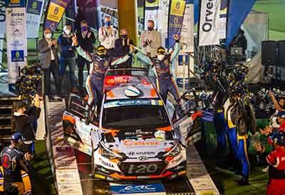 Pirelli revalida el supercampeonato de rallies de España