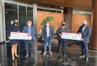 Grupo Soledad dona 5.100 euros a dos ONGs