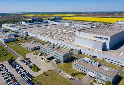 La fábrica europea de Hankook en Hungría tiene nuevo Director General