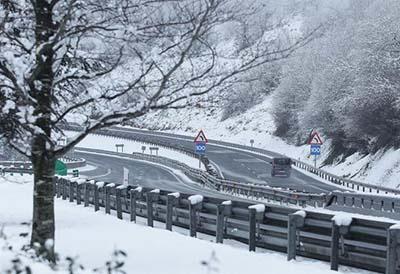 Conducción nieve