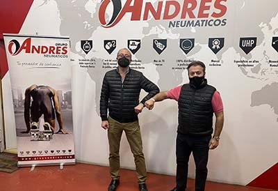 Michel Criado, presidente de Pyfano, y Eduardo Salazar, director general Grupo Andrés