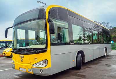 Neumáticos Michelin diseñados para autobuses urbanos eléctricos