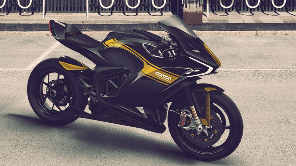 Damon Hypersport Electric Motorcycle: Price, Specs, Range and More