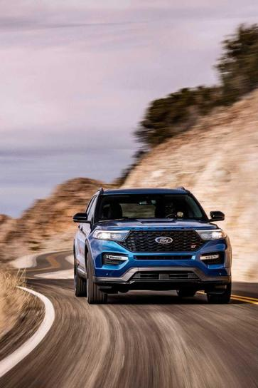 New Ford Explorer ST front