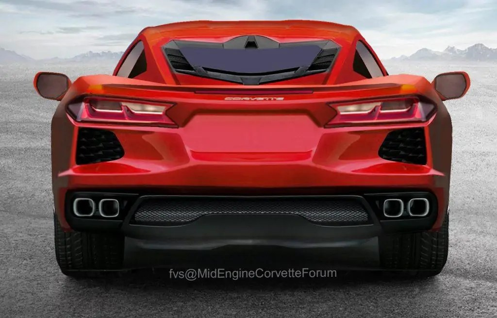 Nuova Chevrolet Corvette C8, il design definitivo?