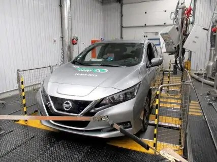 Nissan Leaf supera a pieni voti il Green NCAP